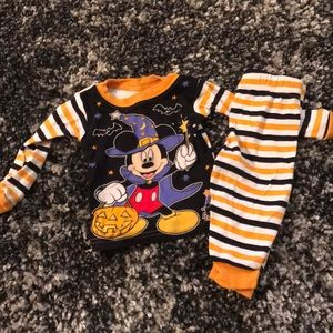Mickey Mouse Halloween pajamas